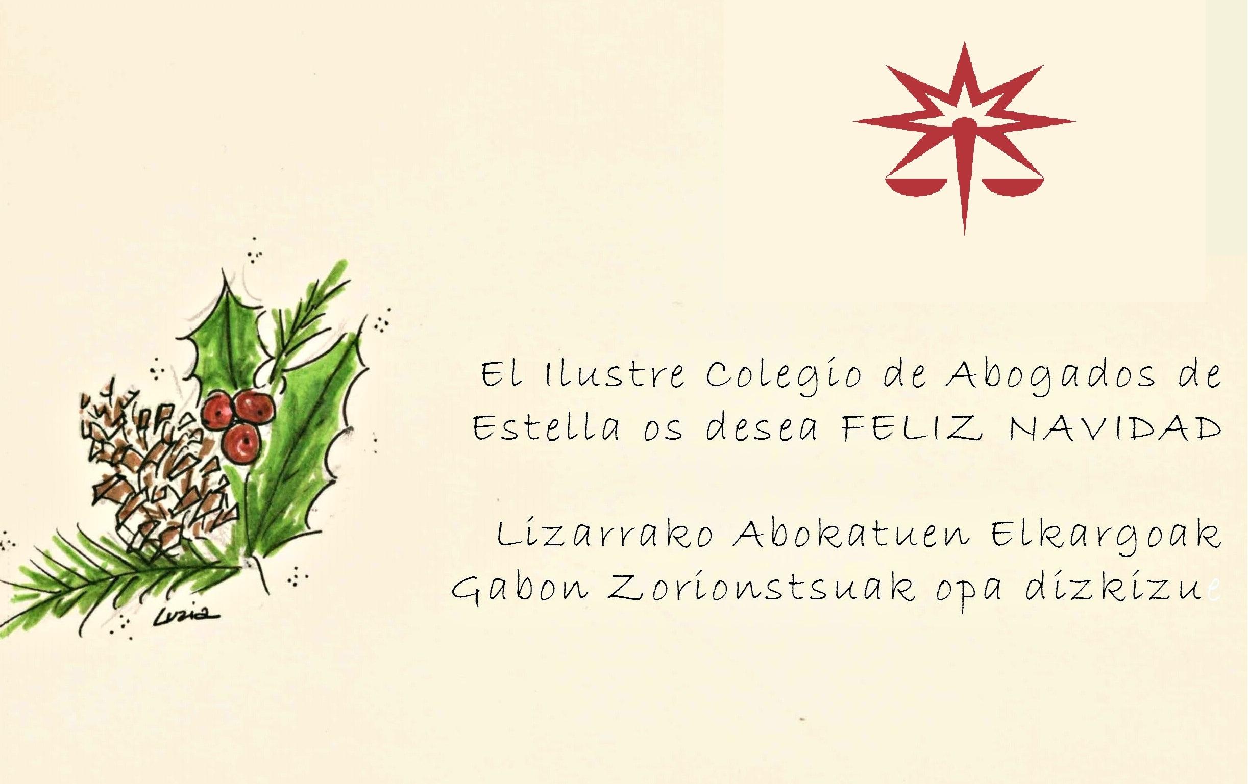 Imagenes Felicitacion Navidad 2019.Felicitacion De Navidad Actualidad Ilustre Colegio De